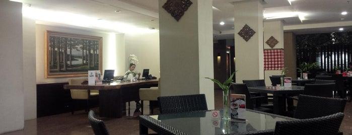 Hotel Santika Kuta is one of Place3.