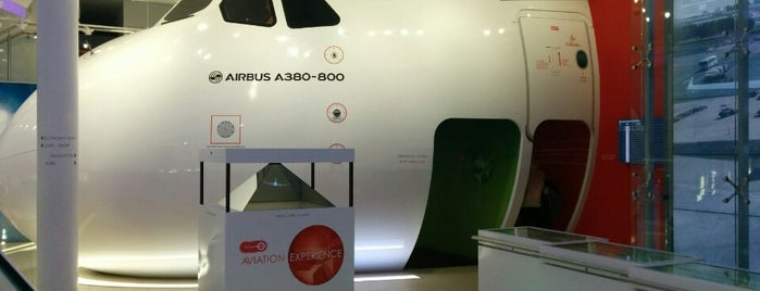 Emirates Aviation Experience is one of London.