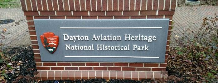 Dayton Aviation Heritage National Historical Park is one of National Parks.