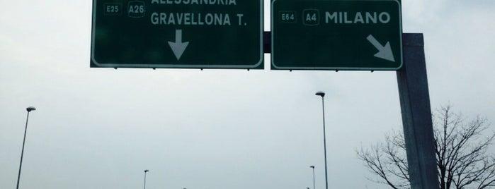 A4 - Novara Est is one of A4 Autostrada Torino - Trieste.