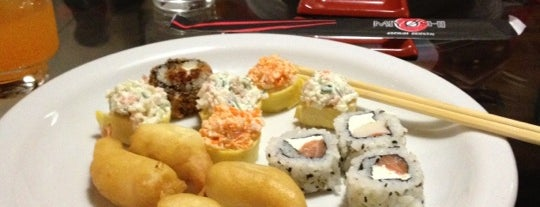 Miyoshi Cozinha Oriental is one of Melhores sushis.