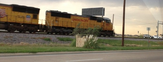 Railroad Crossing is one of my usual places.