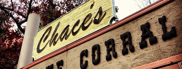 Chace's Pancake Corral is one of 20 favorite restaurants.