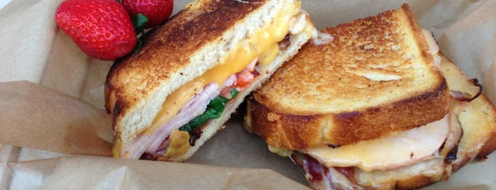 The American Grilled Cheese Kitchen is one of Duncan.