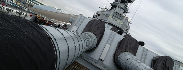 USS Iowa (BB-61) is one of Favorite places.