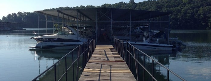 Bald Ridge Marina is one of North Ga chill spots.
