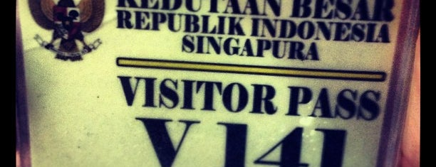 Indonesian Embassy-Singapore is one of i've been visited.