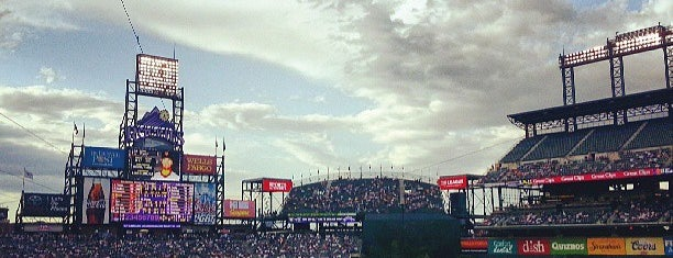 Coors Field is one of Ballparks.