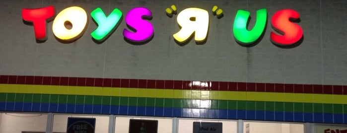 "Toys""R""Us is one of been here."