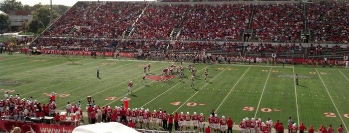 Scheumann Stadium is one of MAC Football Stadiums.