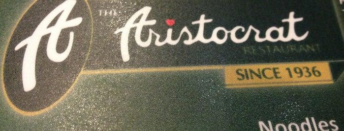 The Aristocrat is one of Restaurants.