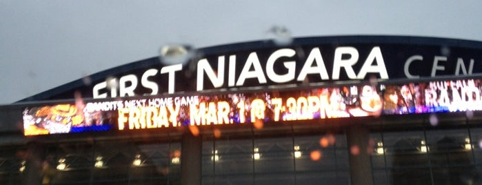 First Niagara Center is one of JYM Hockey Arenas TOP100.