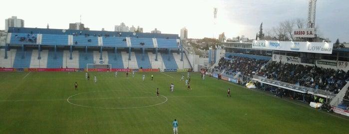 Estadio Nuevo Monumental(Atlético de Rafaela) is one of Equipos de 1ra División.