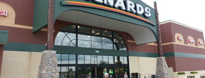 Menards is one of Shopping.