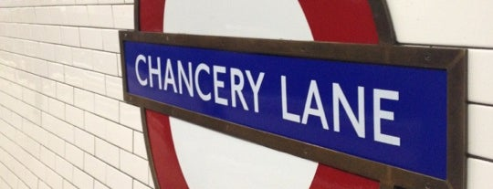 Chancery Lane London Underground Station is one of Zone 1 Tube Challenge.
