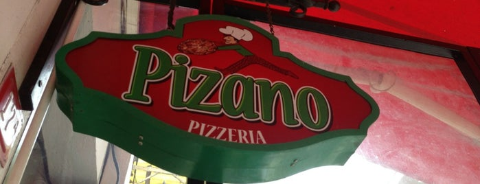 Pizano Pizzeria is one of Best Food, Beverage & Dessert in İstanbul.