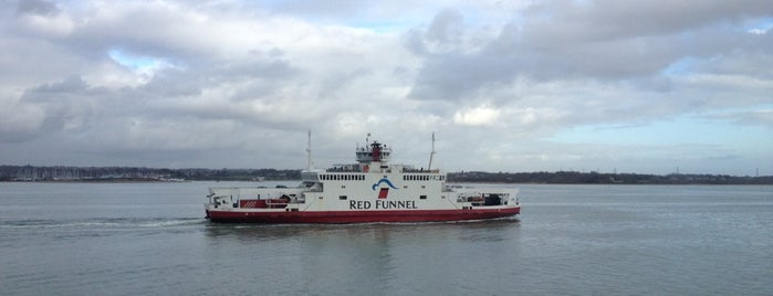 MV Red Falcon (Red Funnel) is one of Frequent.