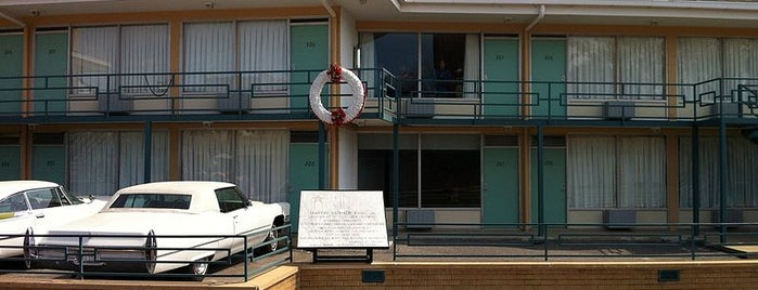 National Civil Rights Museum is one of Must-See African American Historical Places In US.