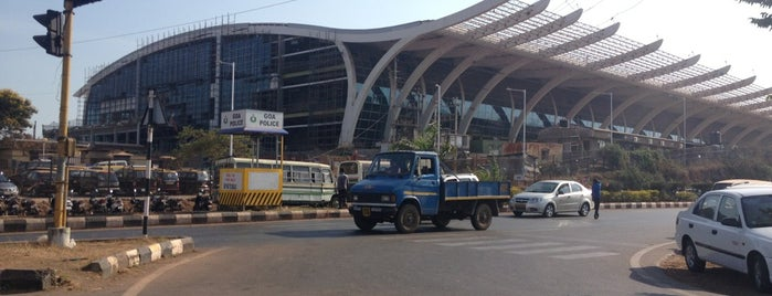 Dabolim Goa International Airport (GOI) is one of India places to visit.