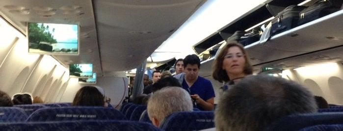 American - Flight AA 2191 is one of Luiz's tips.