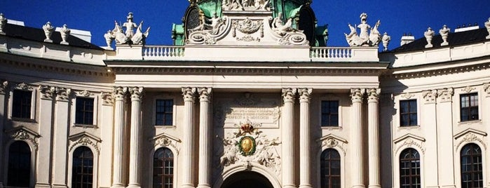 Hofburg is one of 04 Vienna.