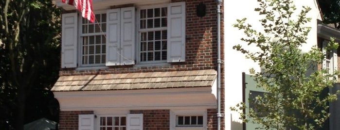 Betsy Ross House is one of Phila.