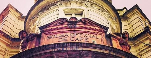 Museu do Café - Edifício da Bolsa Oficial de Café is one of Santos.