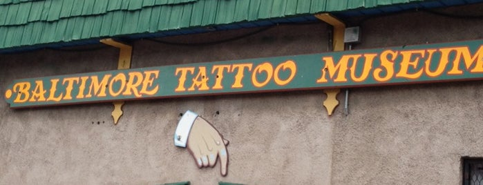 Baltimore Tattoo Museum is one of The Great Baltimore Check-In.