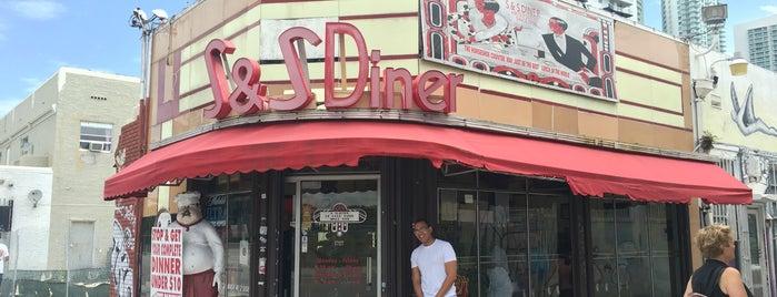 S & S Diner is one of Buzzin' Restaurants - Downtown.