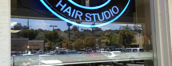Jacob's Hair Studio is one of south bay beach cities.