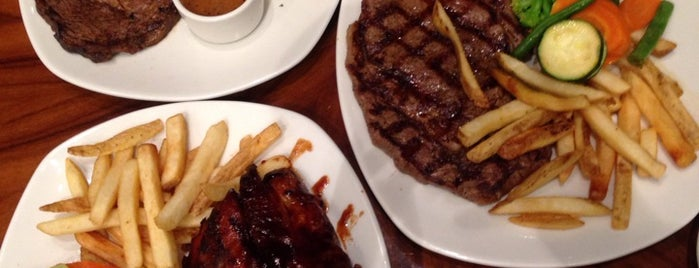 Outback Steakhouse is one of Novina's tips.