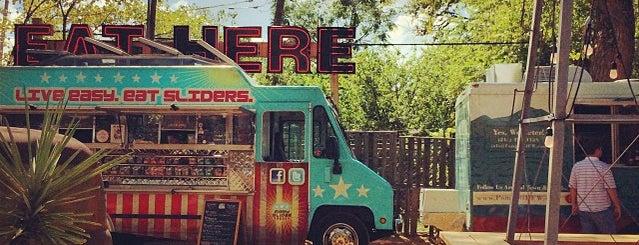 Truck Yard is one of Dallas' Best Bars.