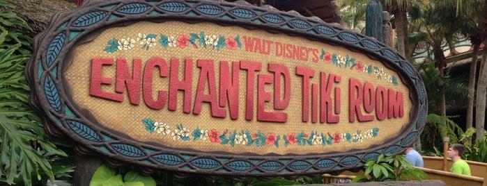 Walt Disney's Enchanted Tiki Room is one of Magic Kingdom Guide by @bobaycock.
