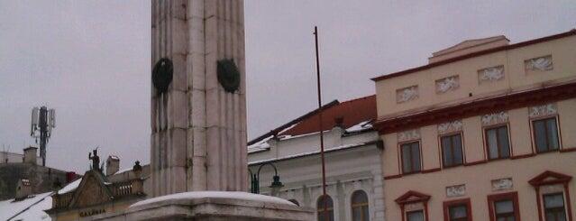 Pamätník Osloboditeľov is one of Prešov - The Best Venues #4sqCities.