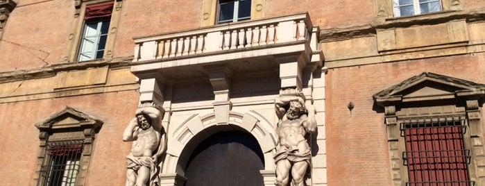 Palazzo Davia Bargellini is one of Art White Night 2012.