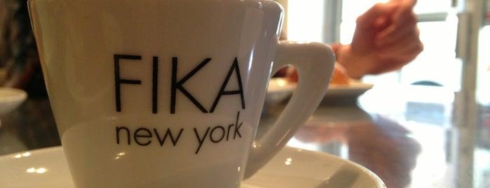 FIKA Espresso Bar is one of NYC coffee.