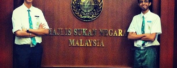 Majlis Sukan Negara is one of F&B.