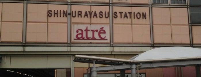 Shin-Urayasu Station is one of Station.