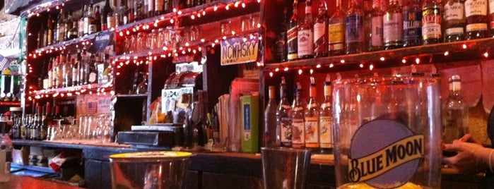 Nancy Whiskey Pub is one of 50 Best Dive Bars.