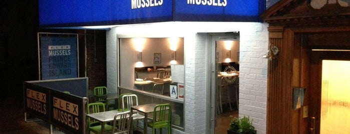 Flex Mussels is one of Be a Foodie!.