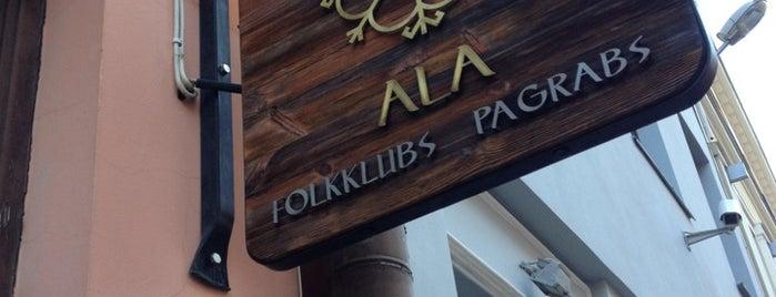 Folkklubs Ala Pagrabs is one of Manas mīļākās vietas Rīgā.