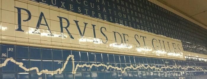 Sint-Gillisvoorplein / Parvis de Saint-Gilles (MIVB / STIB) is one of Stib.