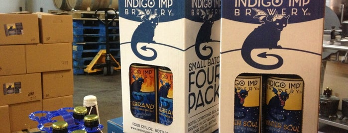 Indigo Imp Brewery is one of Breweries in Northeast Ohio.