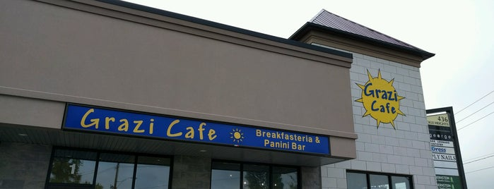 Grazi Cafe is one of Jake's Picks - Restaurants of Niagara.