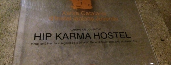 Hip Karma Youth Hostel Barcelona is one of Barcelona.