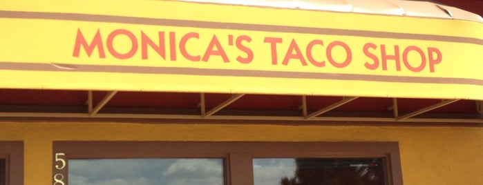 Monica's Taco Shop is one of Diners, drive-ins, and such.