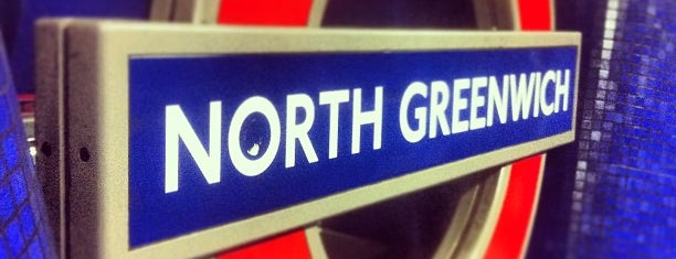 North Greenwich London Underground Station is one of Tube Challenge.