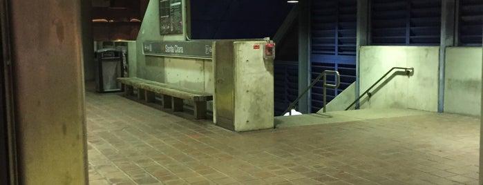 MDT Metrorail - Santa Clara Station is one of My favorite places :).