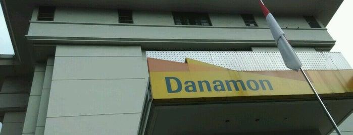 Bank Danamon is one of on job.