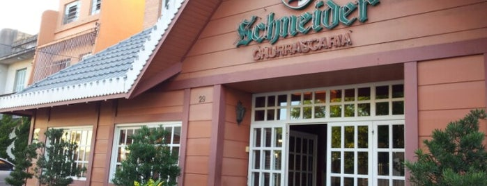 Churrascaria Schneider is one of Top 10 lugares para comer.